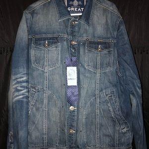 NWT Parish Nation GREAT Jean jacket